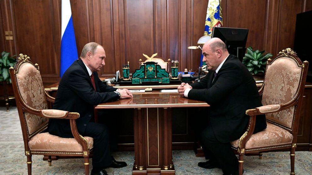 プーチン大統領のセメント電源としてのロシア議員の承認を新PM