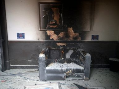 Protesters burn part of Guatemala's Congress building