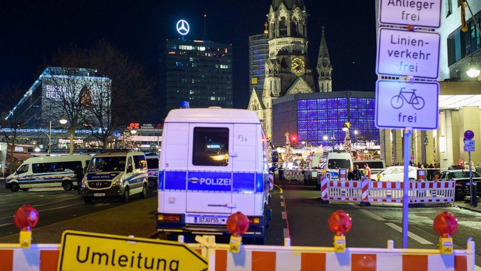 ベルリンのクリスマスマーケットが襲撃された2016年の避難