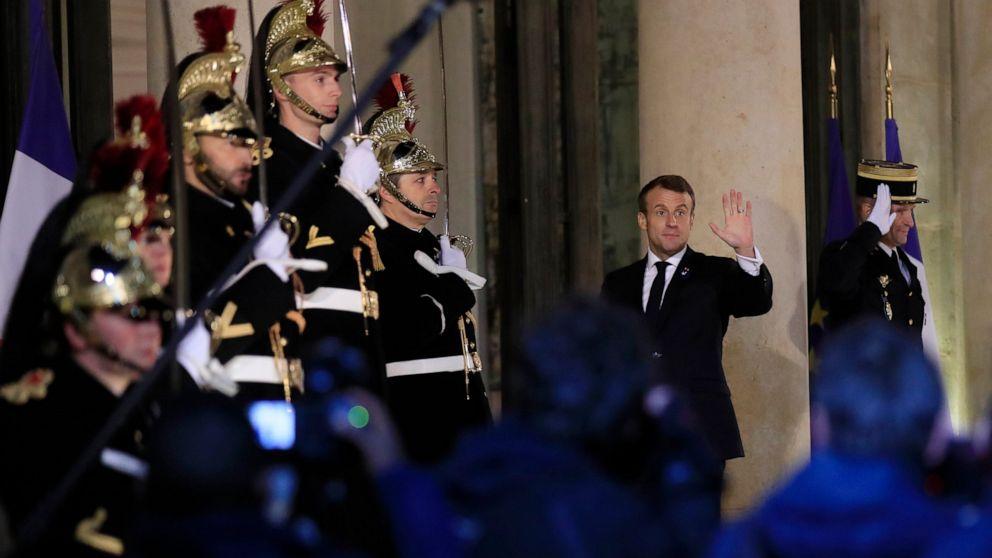 Trump, Macron zu treffen, nachdem der französische Präsident kritisiert NATO
