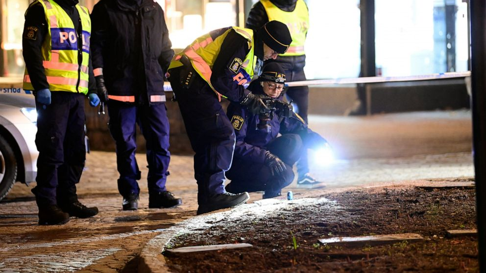Three have life-threatening wounds after Sweden ax attack