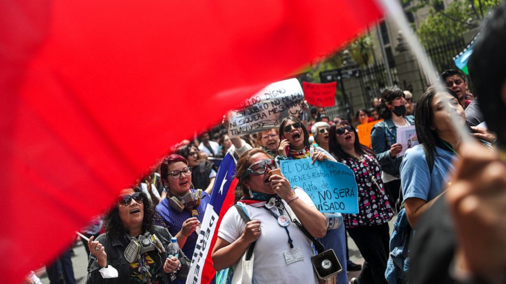 A look at what protesters in Chile have to say thumbnail