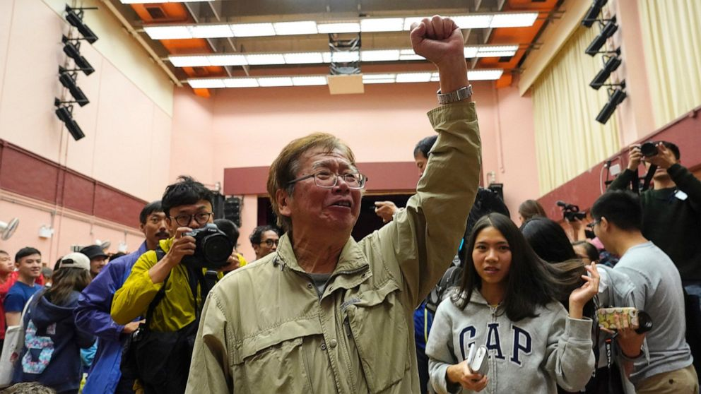 Υπέρ της δημοκρατίας οι υποψήφιοι εκ των προτέρων στο κλειδί του Χονγκ Κονγκ εκλογές