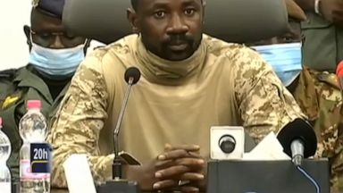 Mali: Junta militar sugiere tres años de transición a nuevas elecciones