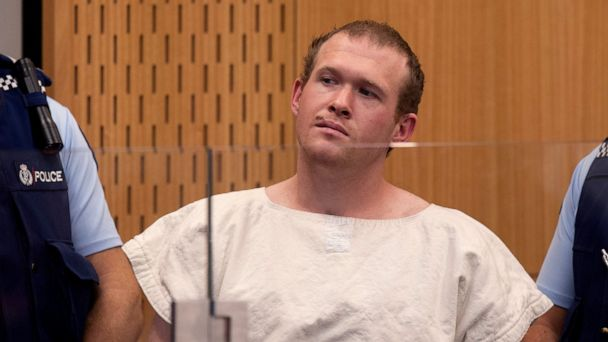 NZ judge allows images of man charged in mosque shootings