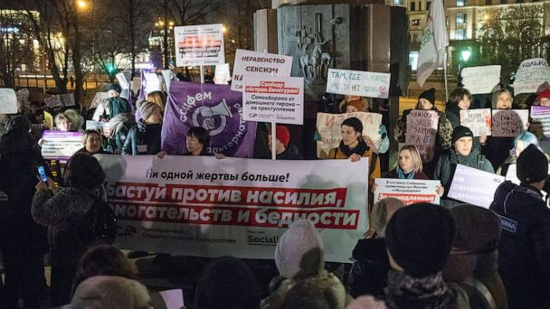 Russia presents long-awaited domestic violence bill