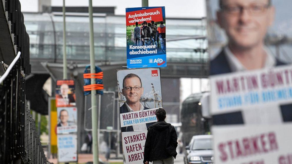 German port a battleground for EU's fragile political center