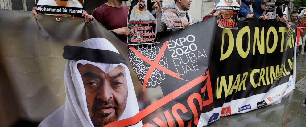 Dubai ruler, princess in London court over welfare of kids - ABC News