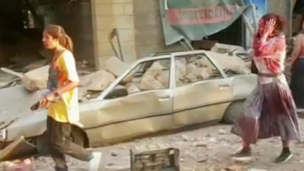 Huge explosions rock Beirut with widespread damage, injuries - ABC ...