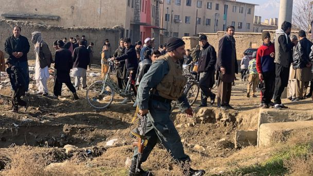 Afghan bomber hits medical facility near US base, 2 killed
