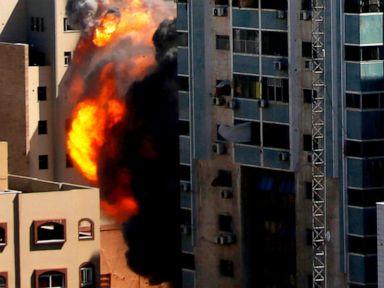 Media demand Israel explain destruction of news offices