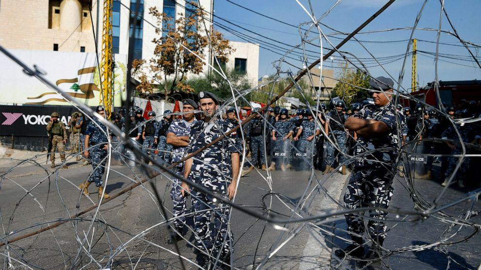 Protesters blast US official near US Embassy in Lebanon