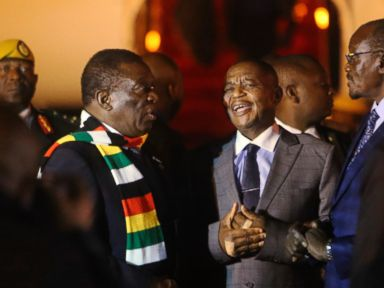 Zimbabwe leader Violence by security forces unacceptable