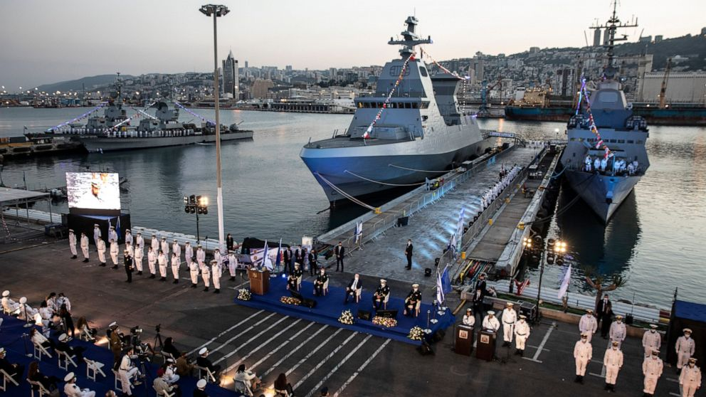 Israeli navy welcomes new generation of German-made warships