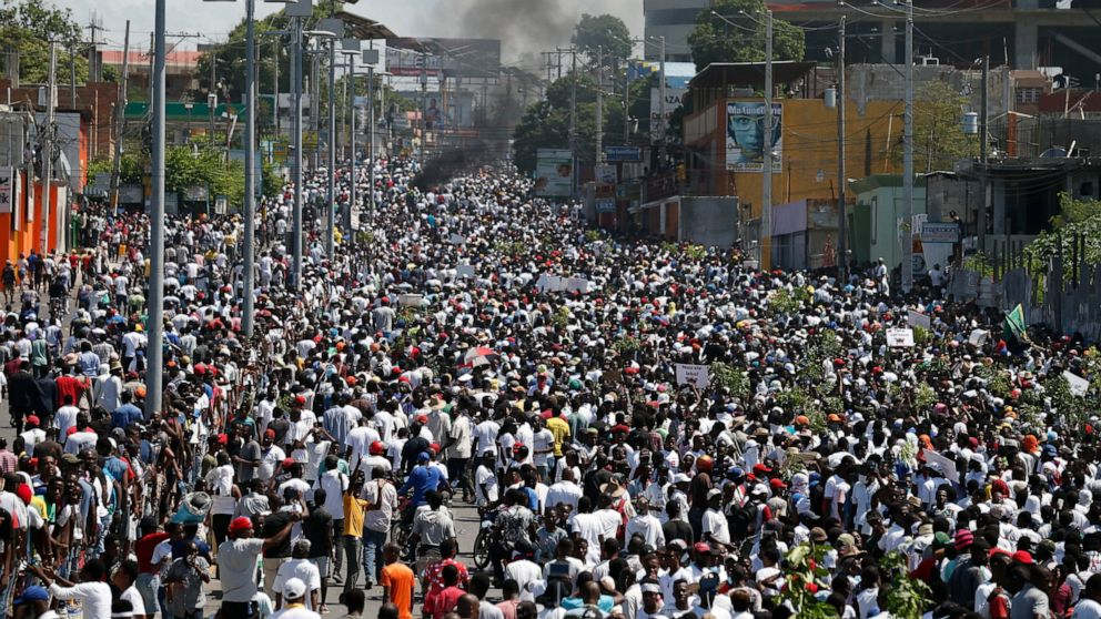 Thousands join protest called by Haiti's art community thumbnail