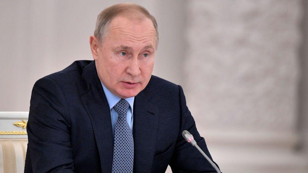Putin Dank Trumpf für die Unterstützung Folie Terroranschläge in Russland