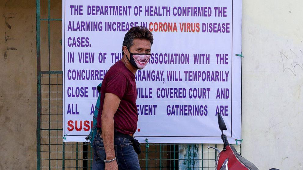 Philippines declares night curfew in Manila to fight virus thumbnail
