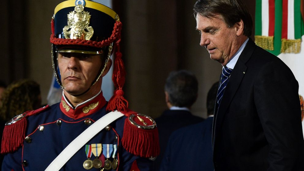Bolsonaro defends 200 days in power amid criticism