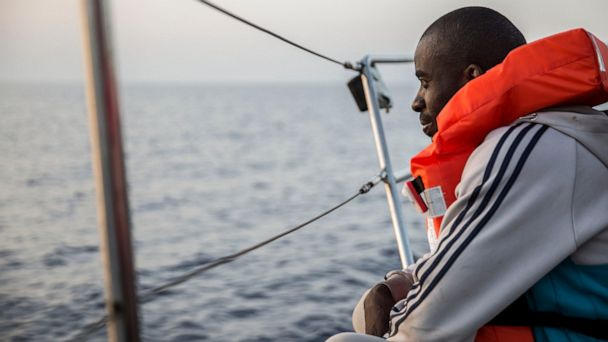 NGO ship with migrants barred from docking in Italy