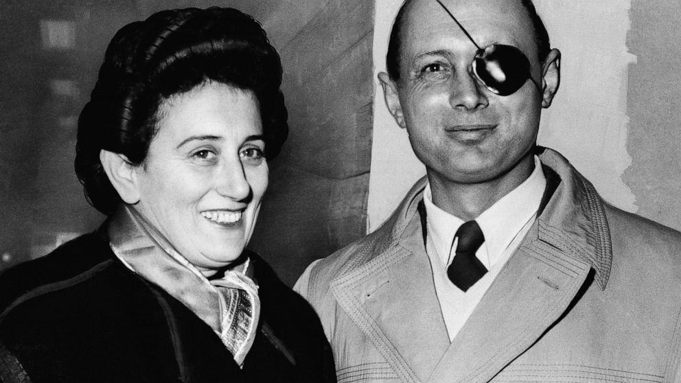 Ruth Dayan, Israeli fashion designer, dies at 103