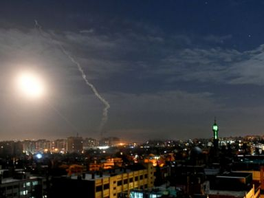 Israel says its jets struck Iranian military sites in Syria
