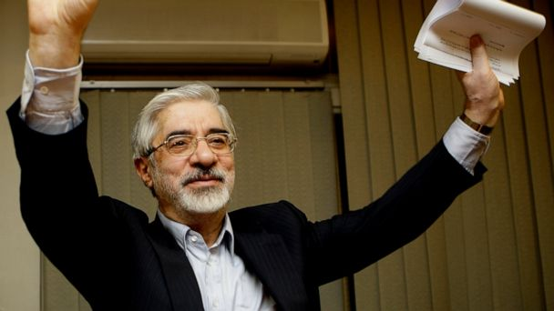 Iran opposition leader compares supreme leader to shah