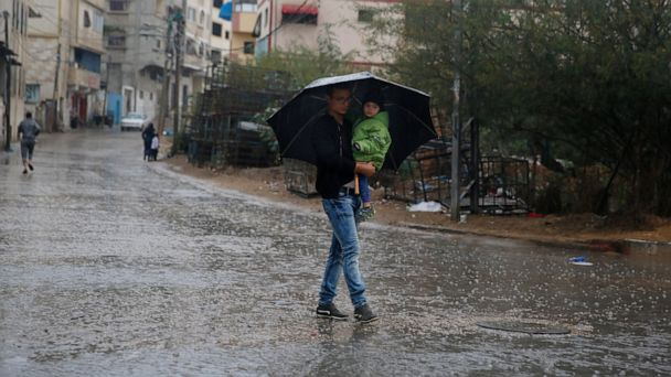 Health officials say Gaza teen electrocuted during rainfall