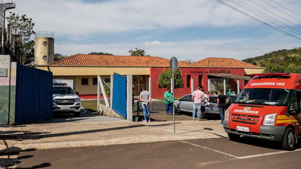 Attacker kills children, teacher at Brazil day care center