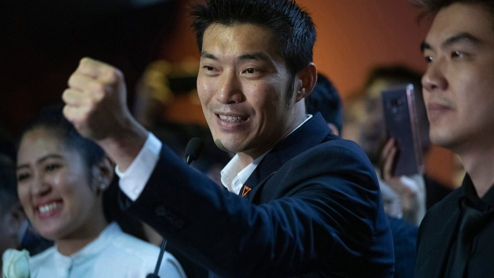 Popular Thai politician charged with defaming monarchy