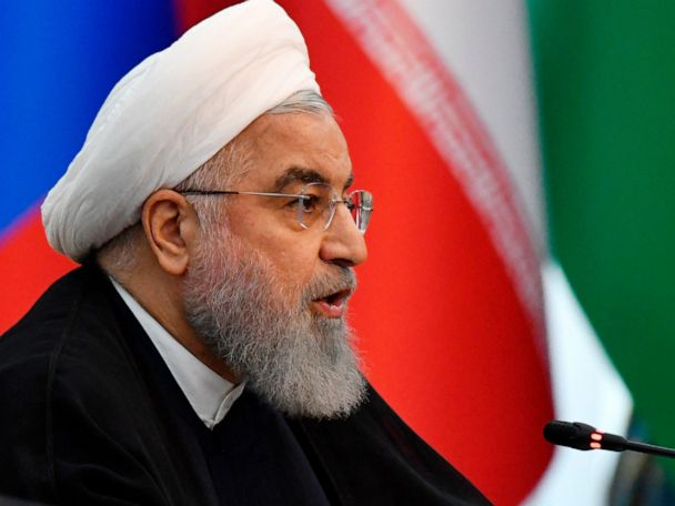 Iranian president: Iran isn't seeking war against any nation