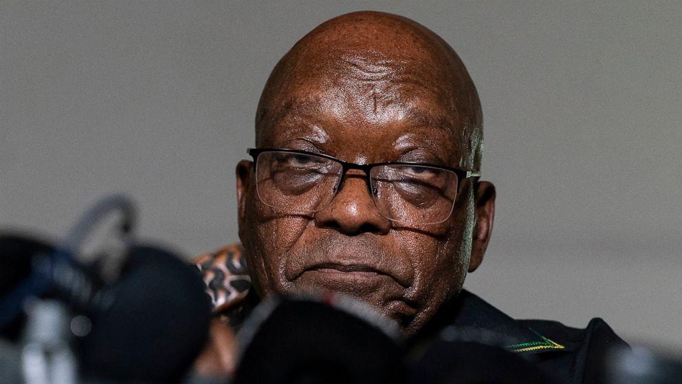 South Africa's Former President Jacob Zuma Hospitalized