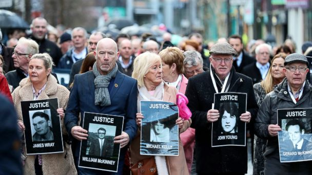 British ex-soldier to be charged in Bloody Sunday killings