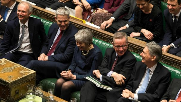 May tries to save Brexit deal after vote to delay UK exit