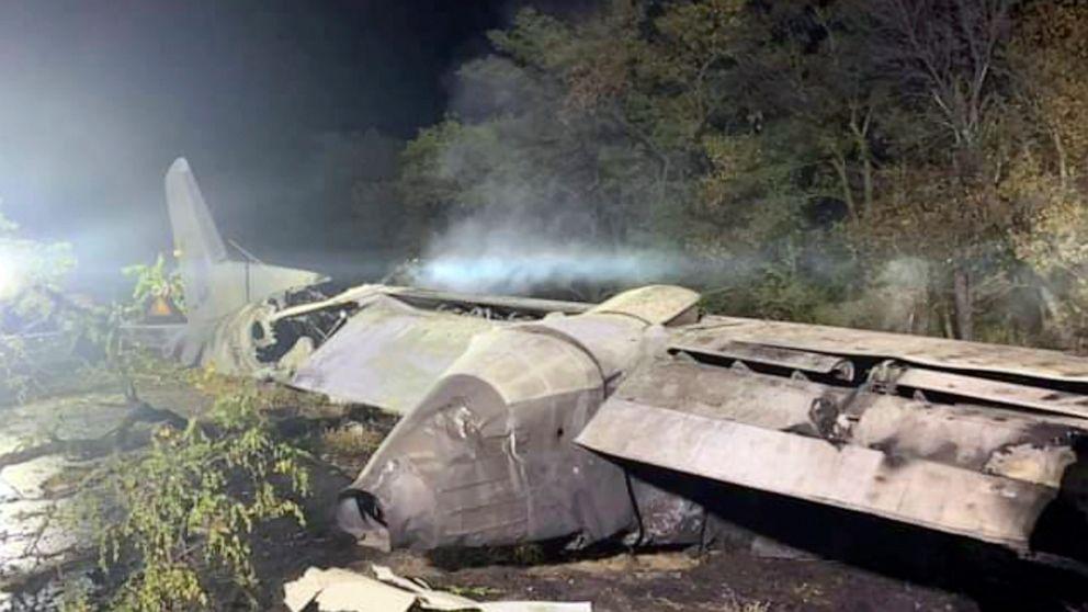 Ukraine plane crash death toll rises to 26, with 1 survivor thumbnail