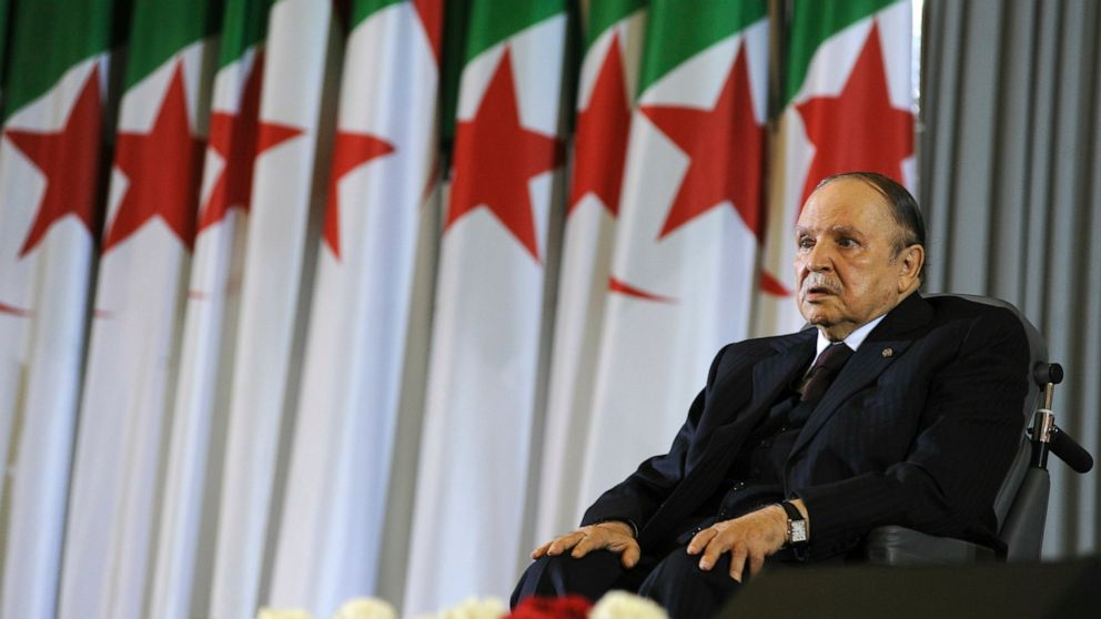 Algeria's Bouteflika to resign before mandate ends April 28