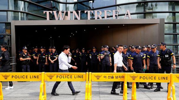 Police: South Korean man set himself ablaze to protest Japan