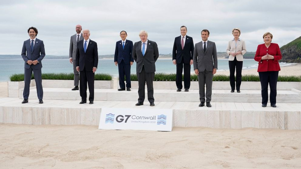 As summit ends, G-7 urged to deliver on vaccines, climate - ABC News