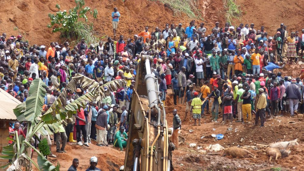 Death toll from Cameroon landslide rises to at least 42