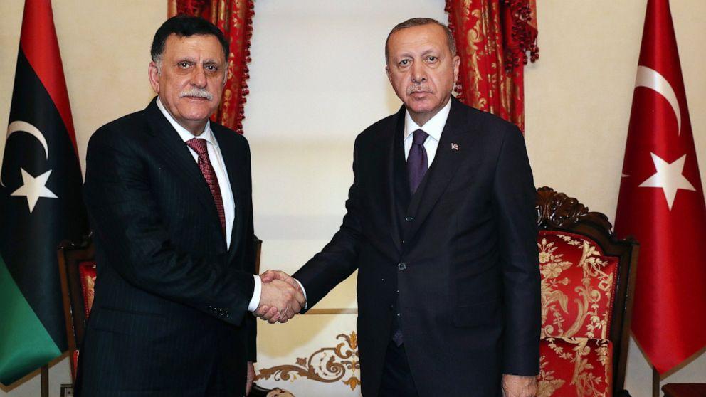 Erdogan:トルコ議員が投票を送部隊リビア