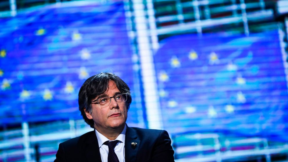 Detained Catalan leader sought by Spain awaits fate in Italy