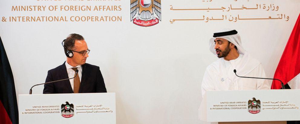 Heiko Maas, Abdullah bin Zayed Al Nahyan