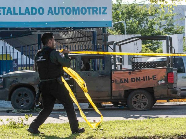 In many parts of Mexico, government ceded battle to cartels