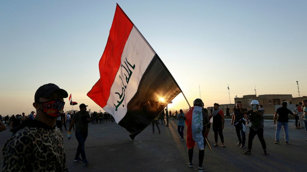 Iraq protesters block some roads amid strike call thumbnail