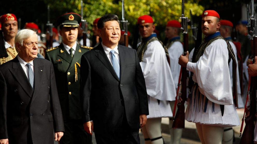 China's Xi on investment drive in EU member Greece thumbnail