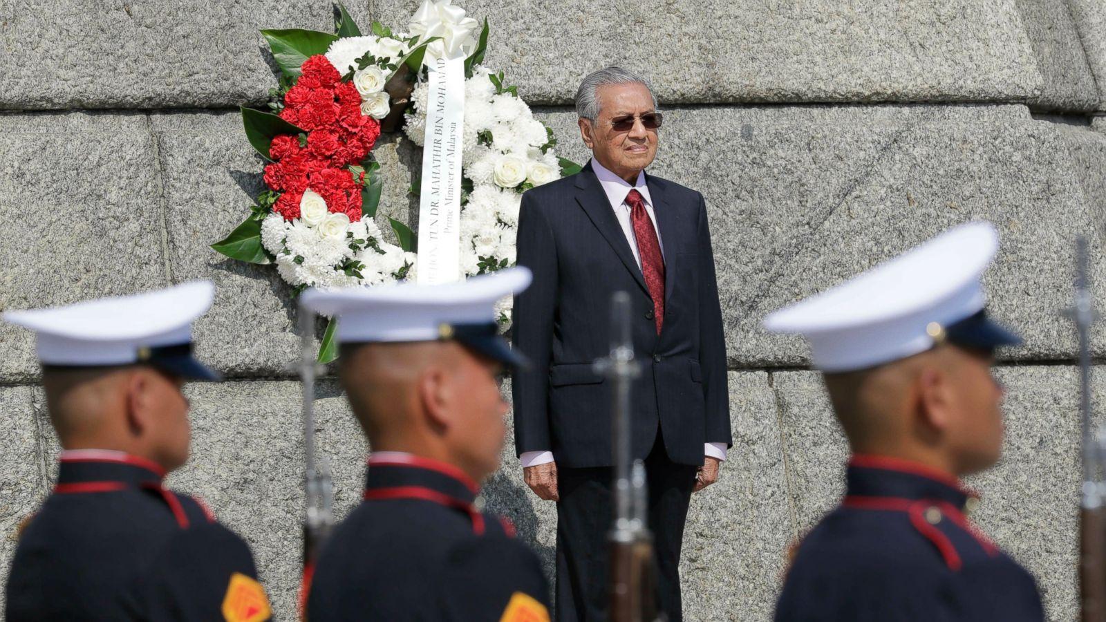 Malaysian Prime Minister Dr Mahathir Mohamad   ABC News