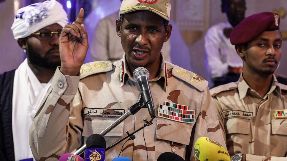 Sudanese general's path to power ran through Darfur