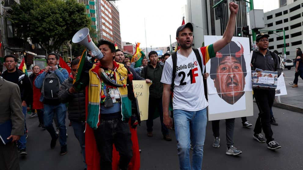 Bolivia, OEA discuss audit of contested presidential vote thumbnail