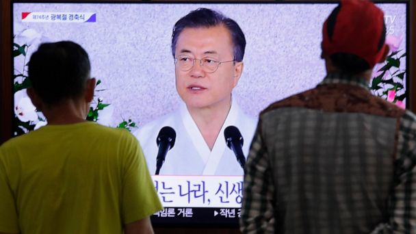 S. Korea's Moon calls for talks to end trade row with Japan