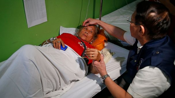 More than 200 fall ill after eating at Imelda Marcos party