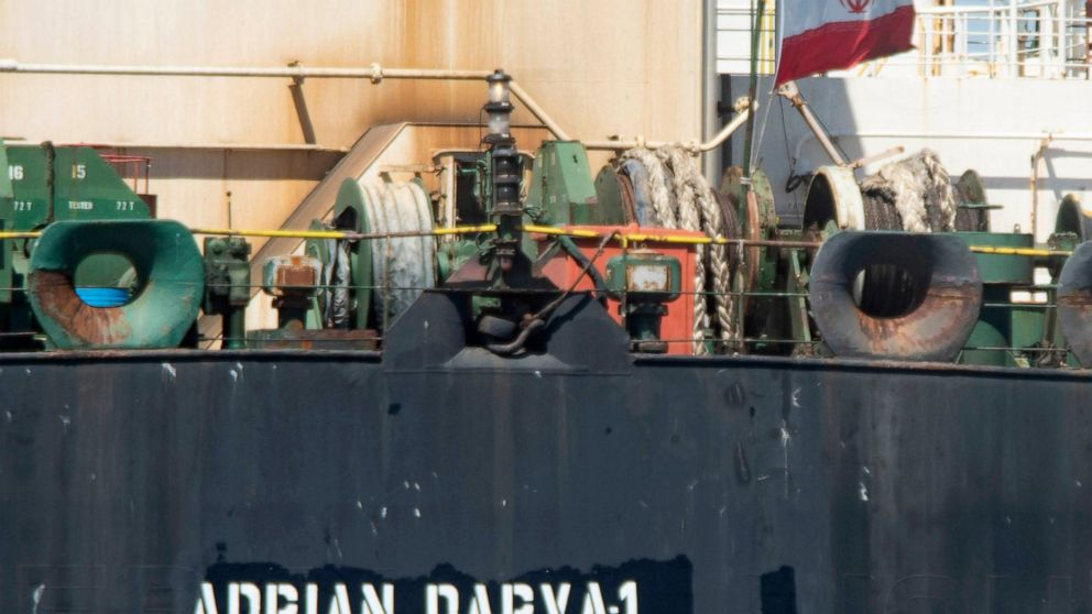 Iran says tanker, its oil pursed by US sold to unnamed buyer thumbnail